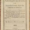 Americans no Iewes, or Improbabilities that the Americans are of that race, title page