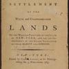 Proposals for the speedy settlement of the waste and unappropriated lands of the western frontiers of the stateof New-York ... [title page]