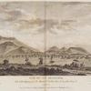 Vue du Cap Francois, Isle St. Domingue, prise du Chemin de L'embarcadere de la petite Anse.