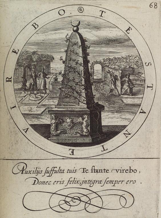 Fascinating Historical Picture of Crispijn van de Passe in 1615