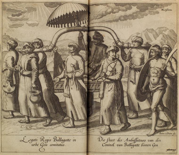 Fascinating Historical Picture of Jan van Doetecam in 1596