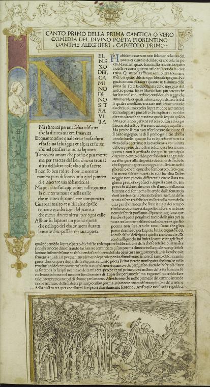 Fascinating Historical Picture of Dante Alighieri on 8/30/1481