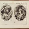 Double portrait of Amalosa and Debore