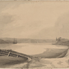 View of the North River from the beach near Lispenards Brewhouse 10th Decr. 1781