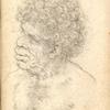 [Head of a groteseque figure.] Inserted in François Rabelais, Les Oeuvres de M. François Rabelais [Rouen?] 1659 [1669?]