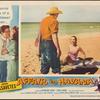 Lobby card for Affair in Havana with John Cassavetes and Sara Shane.