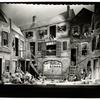 Set designed by Sergei Soudeikine for the Theatre Guild's production of Porgy & Bess, New York City