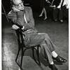 George Abbott in rehearsal for unidentified stage production.
