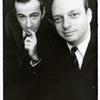 Publicity photo of Unidentified man and Hal Prince from Cabaret.