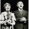 Lotte Lenya and Jack Gilford in Cabaret