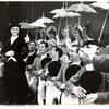 Angela Lansbury and cast in the stage production Mame.