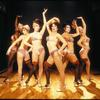 Chorus girls in the stage productiuon Chicago.