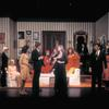 Lauren Bacall (center) and company in the stage production Applause
