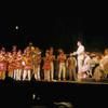 Robert Preston and ensamble in The Music Man