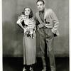 Dorothy Stone and Clifton Webb in the stage production As Thousands Cheer.
