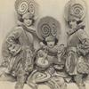 Publicity photo of the Brox Sisters from the stage production Music Box Revue.