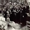 Rudy Vallee singing to Sonja Henie in the motion picture Second Fiddle