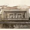 "[Outdoor diorama of set that reads ""Anne Nichols' Abie's Irish Rose Republic Theatre.]"