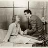 Gertrude Lawrence and Victor Mature in Lady in the Dark.