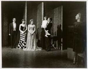 Gertrude Lawrence and unidentified actors in Lady in the Dark.