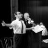 Irving Berlin and Joshua Logan during rehearsal for the stage production Mr. President.