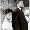 Ossie Davis and Ruby Dee in the stage production Purlie Victorious.