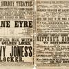 Jane Eyre playbill for the Surrey Theatre, December 28, 1867
