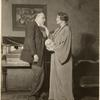 Robert Keith and Anne Shoemaker in the stage production The Great God Brown.