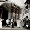 Lynn Fontanne, Alfred Lunt and ensemble in the stage production The Taming of the Shrew.