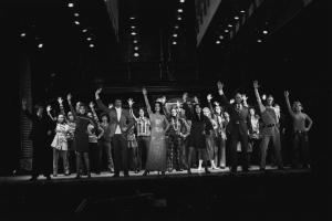 Patrice Munsel (second from left) and entire company in Applause