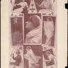 Photo collage of Florence Lawrence. Motion Pictures August 1911