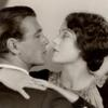 Gary Cooper and Fay Wray in the motion picture The First Kiss.