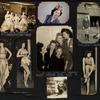 Various photos of Anita Arden and unidentified people at the Stage Door Canteen.