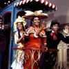 Jack Crowder (aka Thalmus Rasulala), Emily Yancy, Pearl Bailey, and Winston DeWitt Helmsley in the stage production Hello Dolly