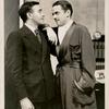Walter Abel and Kenneth MacKenna in Merrily We Roll Along