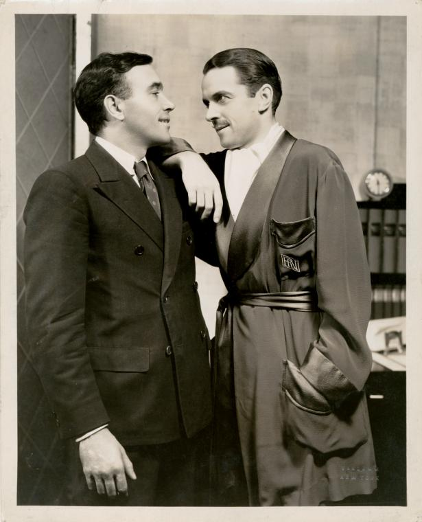 This is What Vandamm Studio and Walter Abel and Kenneth MacKenna in Merrily We Roll Along Looked Like  on 1/1/1934