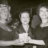 Sylvia Miles, Lucille Lortel, and Grayson Hall.