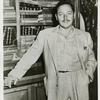 Publicity photo of Tennessee Williams to promote Cat on a Hot Tin Roof.