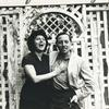 Anna Magnani and Tennessee Williams.