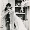 Audrey Hepburn in the stage production Gigi.