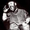 Zero Mostel in the stage production Fiddler On the Roof