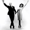 Jack Cassidy and Patricia Marand with arms stretched out in It's a bird, it's a plane, it's Superman