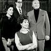 Linda Lavin, Bob Holiday, Jack Cassidy and unidentified actress.
