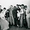 Jack Cassidy, Betty Oakes, Alice Ghostley, Betty Ageloff, Gordon Dilworth, Rodester Timmons, Paul Ukena, Eliot Feld (young boy), David Brooks, Michael Kermoyan and Douglas Collins in the stage production Sandhog