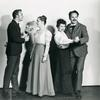 """""""Jack Cassidy, Betty Oakes, Alice Ghostley and David Brooks in Sandhog."""""""