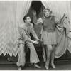 Ray Bolger and Bertha Belmore in the stage production By Jupiter, Shubert Theatre, N.Y., 1942.