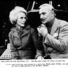Janet Leigh  and Jack Cassidy in a scene from Murder Among Friends.