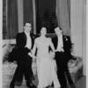 Noel Coward, Lynn Fontanne and Alfred Lunt in Design for Living.