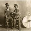 Publicity photo of James McIntyre & Thomas Heath as Georgia Minstrels.