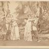 Otis Skinner, Virginia Dreher, Ada Rehan, and John Drew in the stage production A Midsummer's Night Dream.